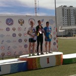 Пакрашин Д. - 400м - 2 место, Грищенко П.- 3 место