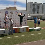 Панкрашин Денис 400м-2 место, Грищенко П. - 3 место