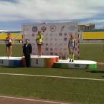 Толстихина Александра, 1500м - 3 место